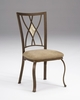 Hillsdale - Brookside Diamond Fossil Back Dining Chair  Set of 2 - 4815-805