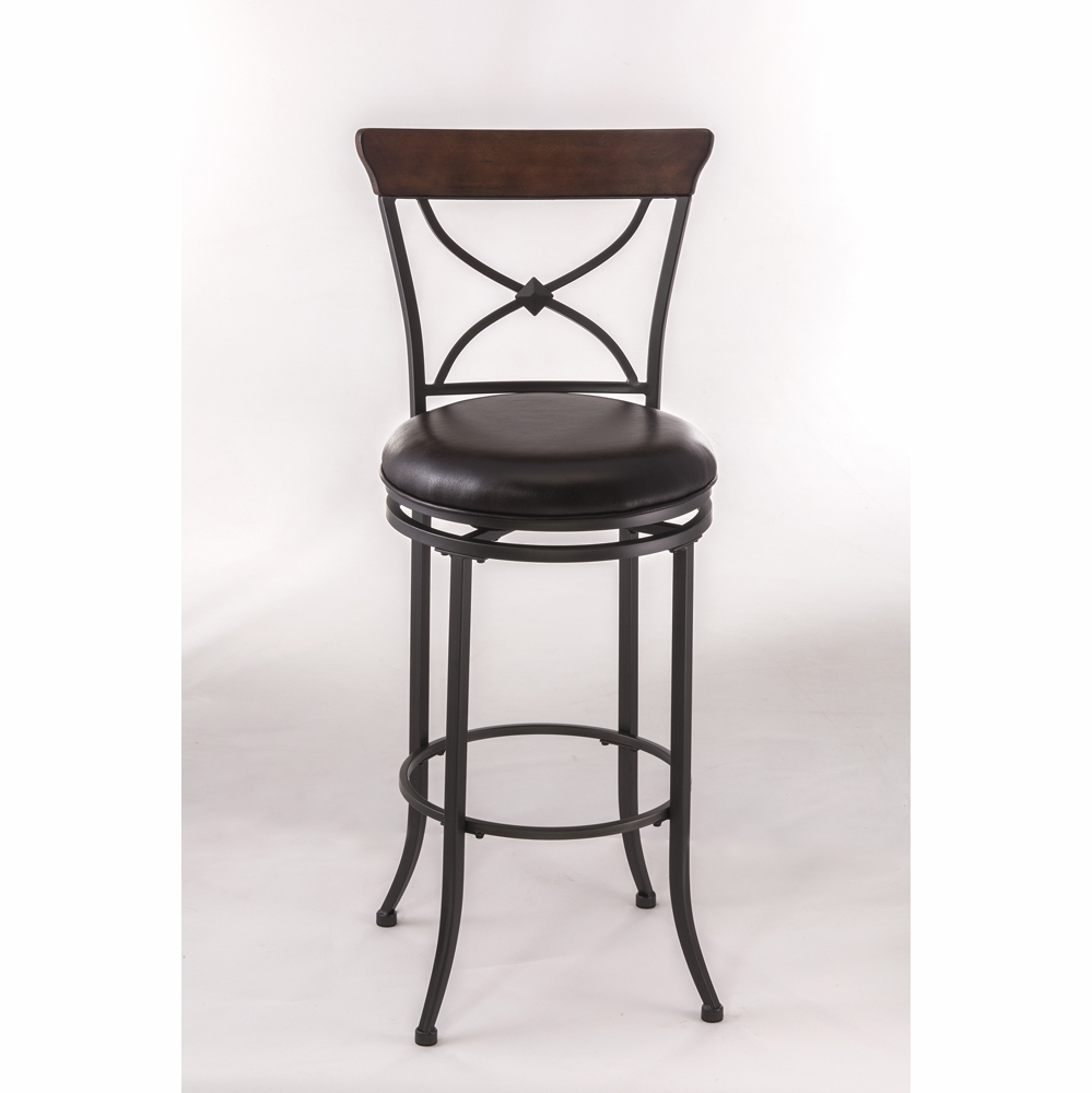 Cool Hillsdale Cameron Swivel X Back Counter Stool 4671 826 Ibusinesslaw Wood Chair Design Ideas Ibusinesslaworg