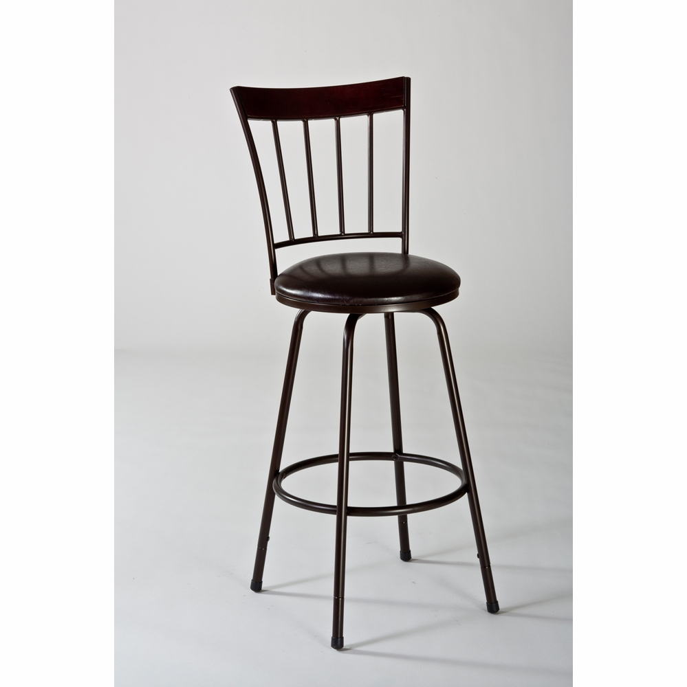 Fantastic Hillsdale Cantwell Swivel Counter Bar Stool W Nested Leg 5258 830S Caraccident5 Cool Chair Designs And Ideas Caraccident5Info