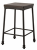Hillsdale - Castille Non Swivel Backless Counter Height Stool - 5976-826