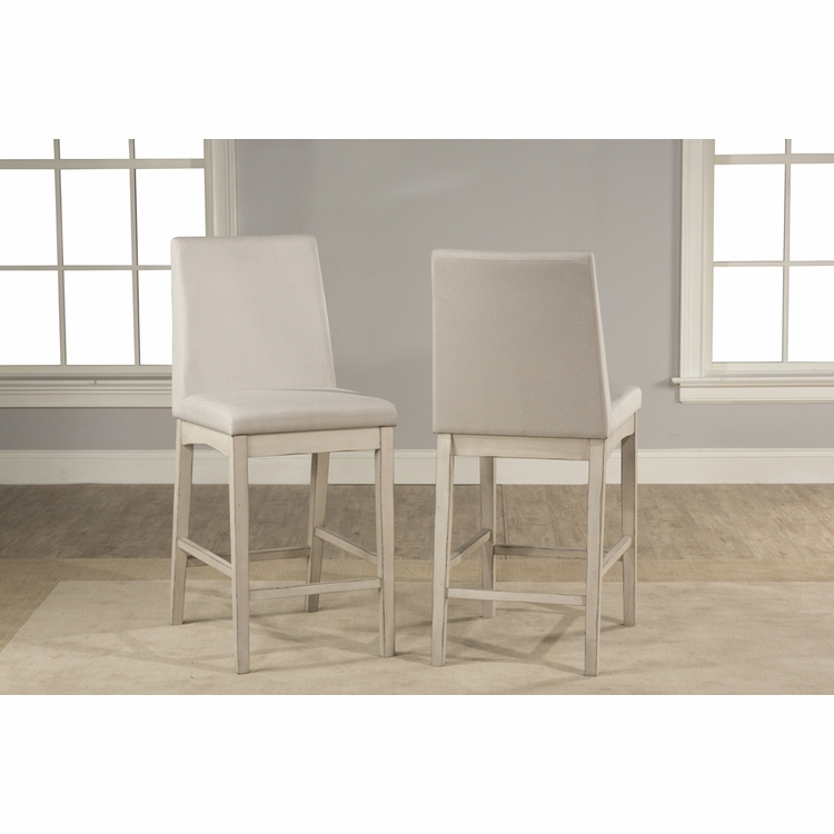 Hillsdale - Clarion Non Swivel Parson Counter Height Stool Set Of 2 - 4542-824