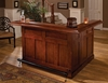 Hillsdale - Classic Large Cherry Bar with Side Bar - 62578AXCHE