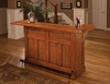 Hillsdale - Classic Large Oak Bar - 62576AOAK