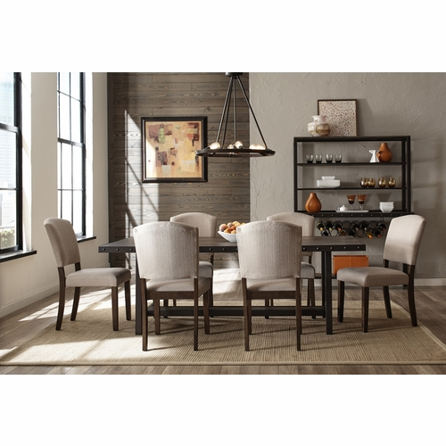 Hillsdale - Jennings 7-Piece Dining Set with Emerson Chairs - 4022DTBE7PC
