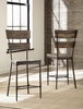 Hillsdale - Jennings Non-Swivel Counter Stool - Set of 2  - 4022-822