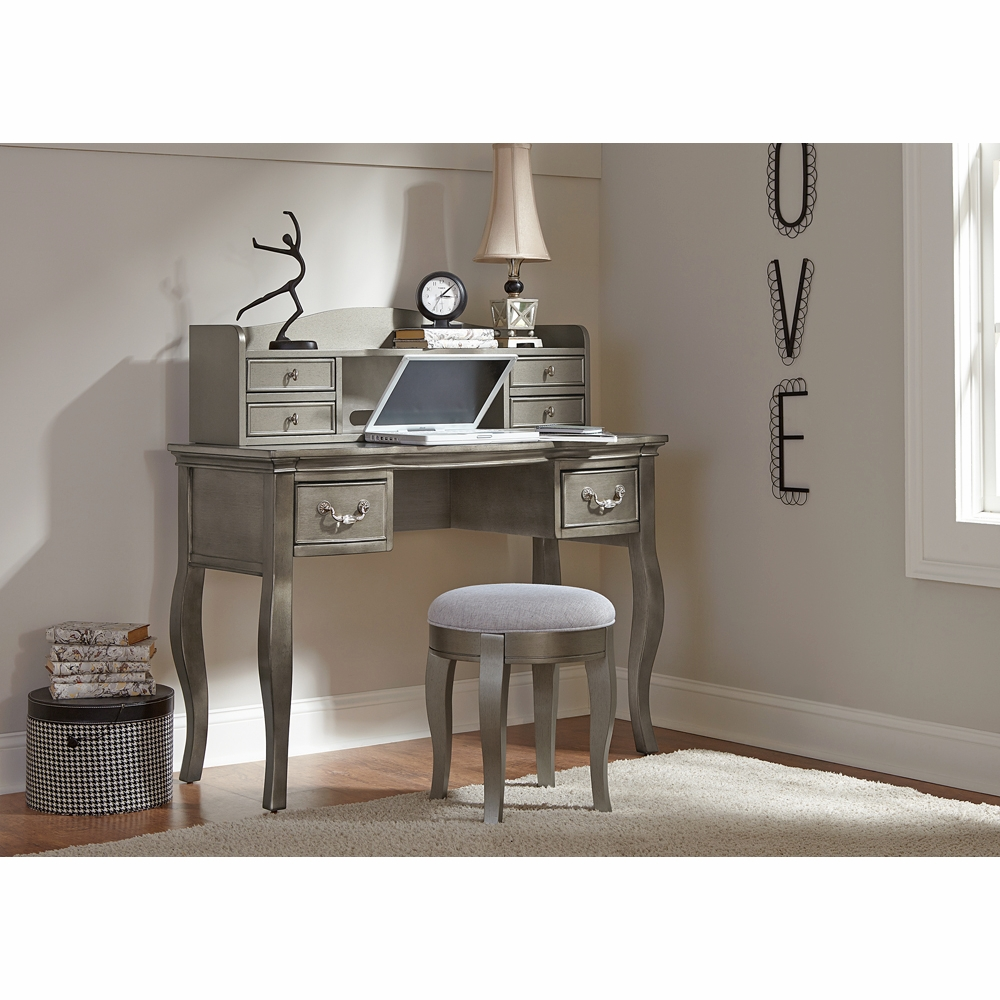 Hover to zoom - Hillsdale Kids - Kensington Writing Desk W/ Hutch & Stool Antique