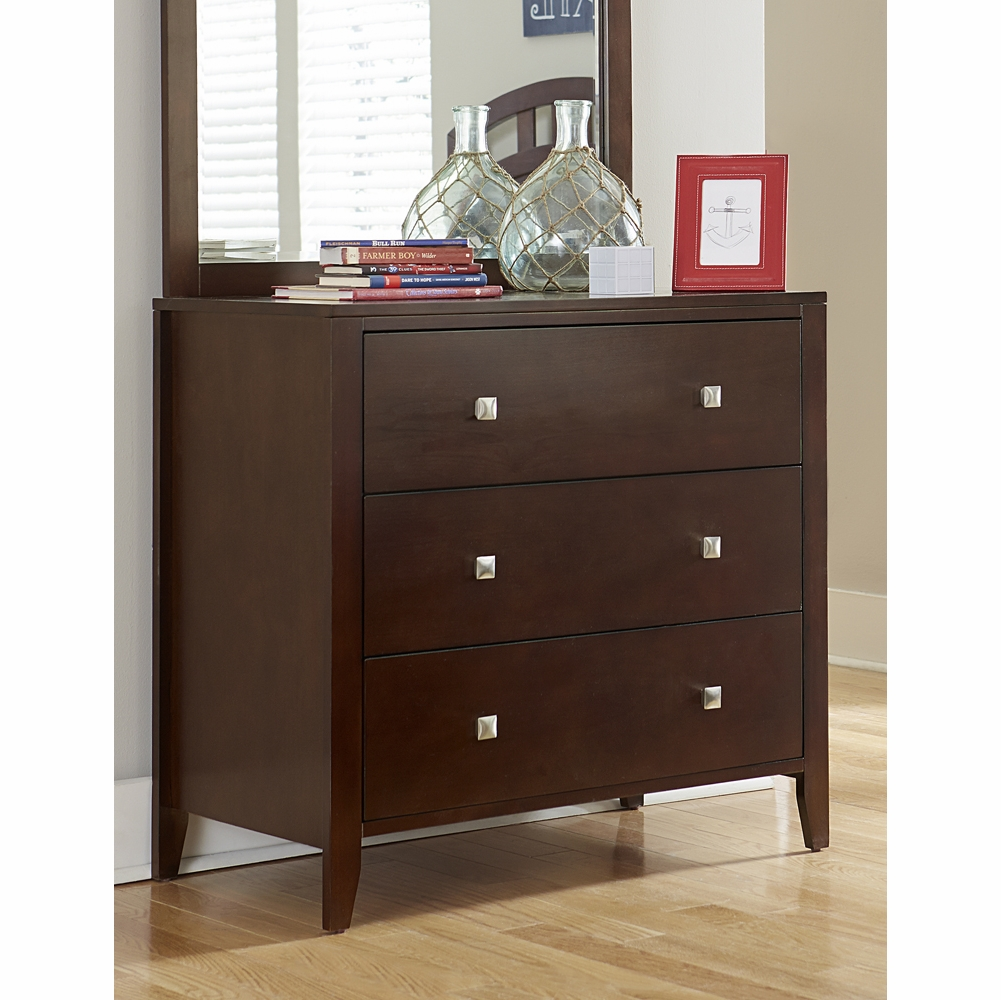 3 Drawer Chest Cherry 31525 Hover To Zoom