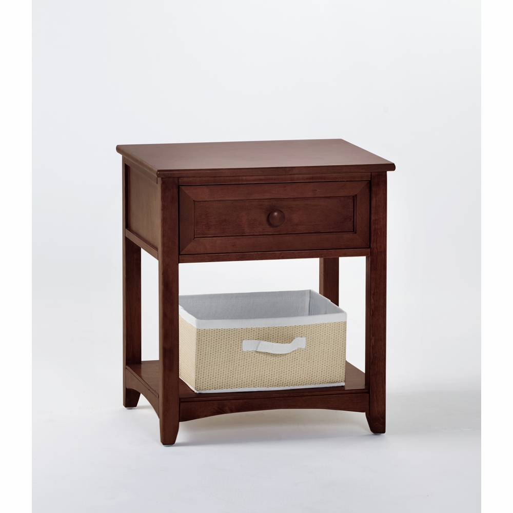 Miraculous Hillsdale Kids School House 1 Drawer Nightstand Cherry 4530 Bralicious Painted Fabric Chair Ideas Braliciousco