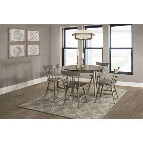 Hillsdale - Mayson 5 Piece Dining Set With Spindle Back Chairs - 4552DT5C3
