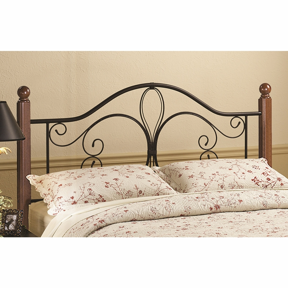 Milwaukee Wood King Post Headboard Only