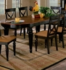 "Hillsdale - Northern Heights Dining Table - Contains Complete Oval Table With (2) 14"" Leaves - 4439-816W"