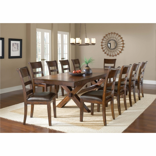 Hillsdale - Park Avenue 11-Piece Dining Set - 4692DTBC11