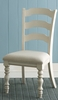 Hillsdale - Pine Island Ladder Back Side Chair Old White  Set of 2 - 5265-802