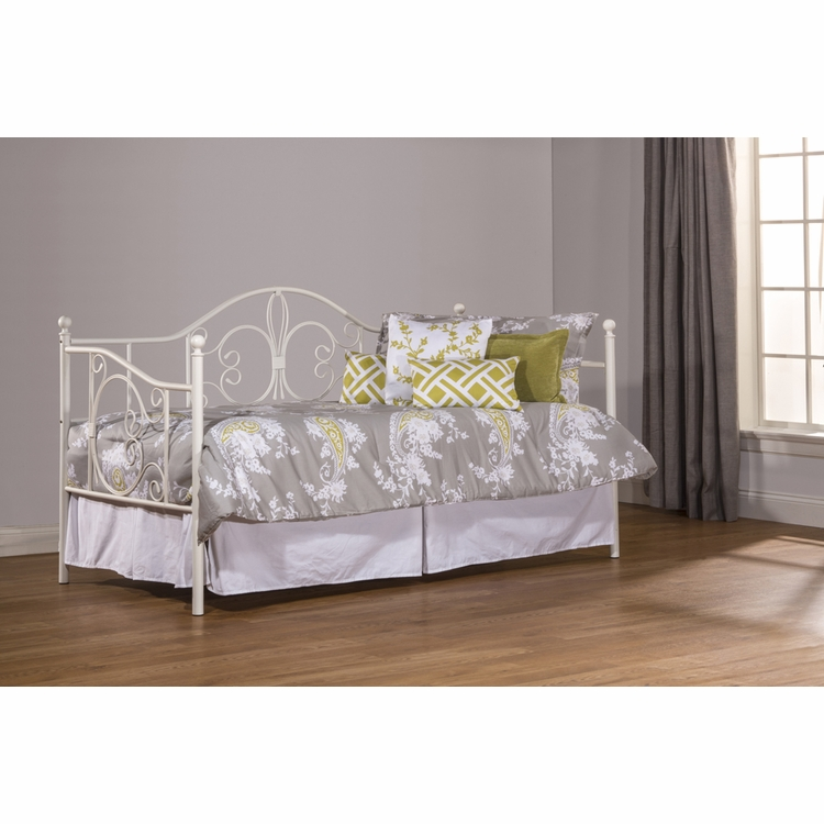 Hillsdale - Ruby Daybed with Suspension Deck and Roll Out Trundle Unit - 1687DBLHTR