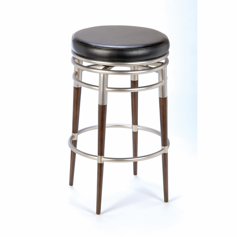 M Backless Swivel Counter Stool