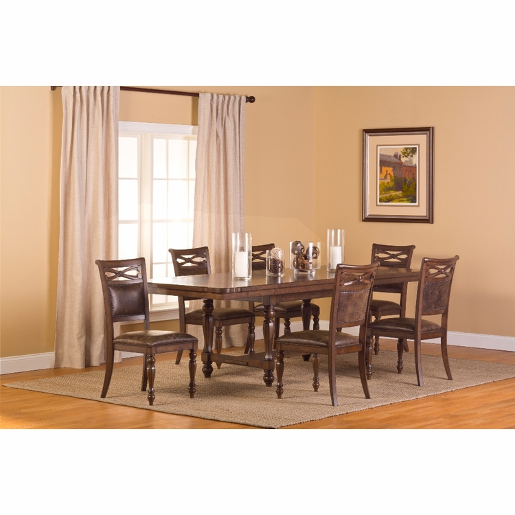 Hillsdale - Seaton Springs 7Pc Dining Set - 5484DTBC7