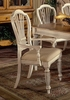 Hillsdale - Wilshire Arm Chair In Antique White  Set of 2 - 4508-805