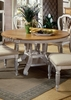 Hillsdale - Wilshire Round/Oval Dining Table In Antique White - 4508DTBRND