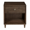 Home Fare - Knotty Walnut Accent Bedside Table - D198-202-1