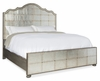 Hooker Furniture - Arabella King Mirrored Panel Bed - 1610-90166-EGLO