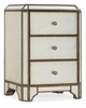 Hooker Furniture - Arabella Mirrored Three-Drawer Nightstand - 1610-90116-EGLO