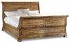Hooker Furniture - Archivist California King Sleigh Bed w/Sleigh Footboard - 5447-90460-Toffee