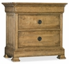 Hooker Furniture - Archivist Three-Drawer Nightstand - 5447-90016-TOFFEE