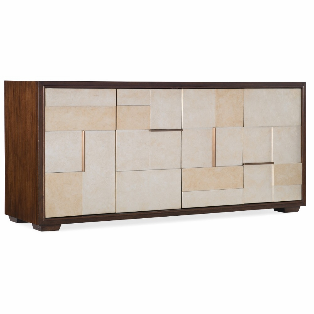 Furniture Composition In Silver Entertainment Console 5801 55469 00