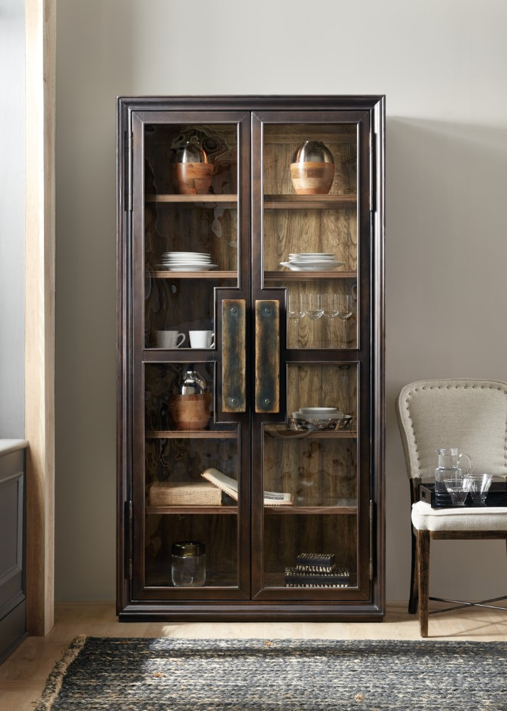 Hooker Furniture Crafted Display Cabinet 1654 75906 Mtl