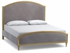 Hooker Furniture - Cynthia Rowley Antoinette King Gilded Upholstered Bed - 1586-90266-GLD1