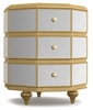 Hooker Furniture - Cynthia Rowley Bewitch Mirrored Octagonal Nightstand - 1586-90016A-GLD1