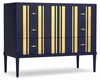Hooker Furniture - Cynthia Rowley Parker Striped Bachelors Chest - 1586-90017-BL2