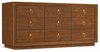 Hooker Furniture - Cynthia Rowley Roman Nine-Drawer Dresser - 1586-90002B-BRN