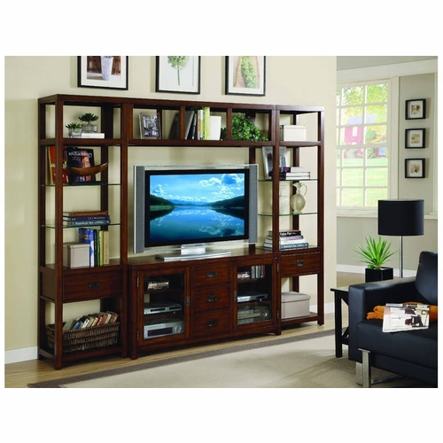 Hooker Furniture - Danforth Wall Group w/56'' Console - 388-70-111