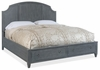 Hooker Furniture - Hamilton King Wood Panel Bed w/Storage Footboard - 5770-90166-GRY