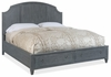Hooker Furniture - Hamilton Queen Wood Panel Bed w/Storage Footboard - 5770-90150-GRY