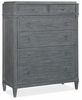 Hooker Furniture - Hamilton Six-Drawer Chest - 5770-90010-GRY