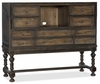 Hooker Furniture - Hill Country Boerne Ranch Managers Desk - 5960-10482-MULTI