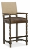 Hooker Furniture - Hill Country Comfort Barstool - 5960-20360-BLK
