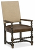 Hooker Furniture - Hill Country Comfort Upholstered Arm Chair - 5960-75400-BLK