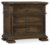 Hooker Furniture - Hill Country Elmendorf Three-Drawer Nightstand - 5960-90016-MULTI