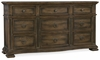 Hooker Furniture - Hill Country Williamson Nine-Drawer Dresser - 5960-90002-MULTI