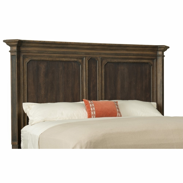 Hooker Furniture - Hill Country Woodcreek Queen Mansion Headboard - 5960-90251-MULTI
