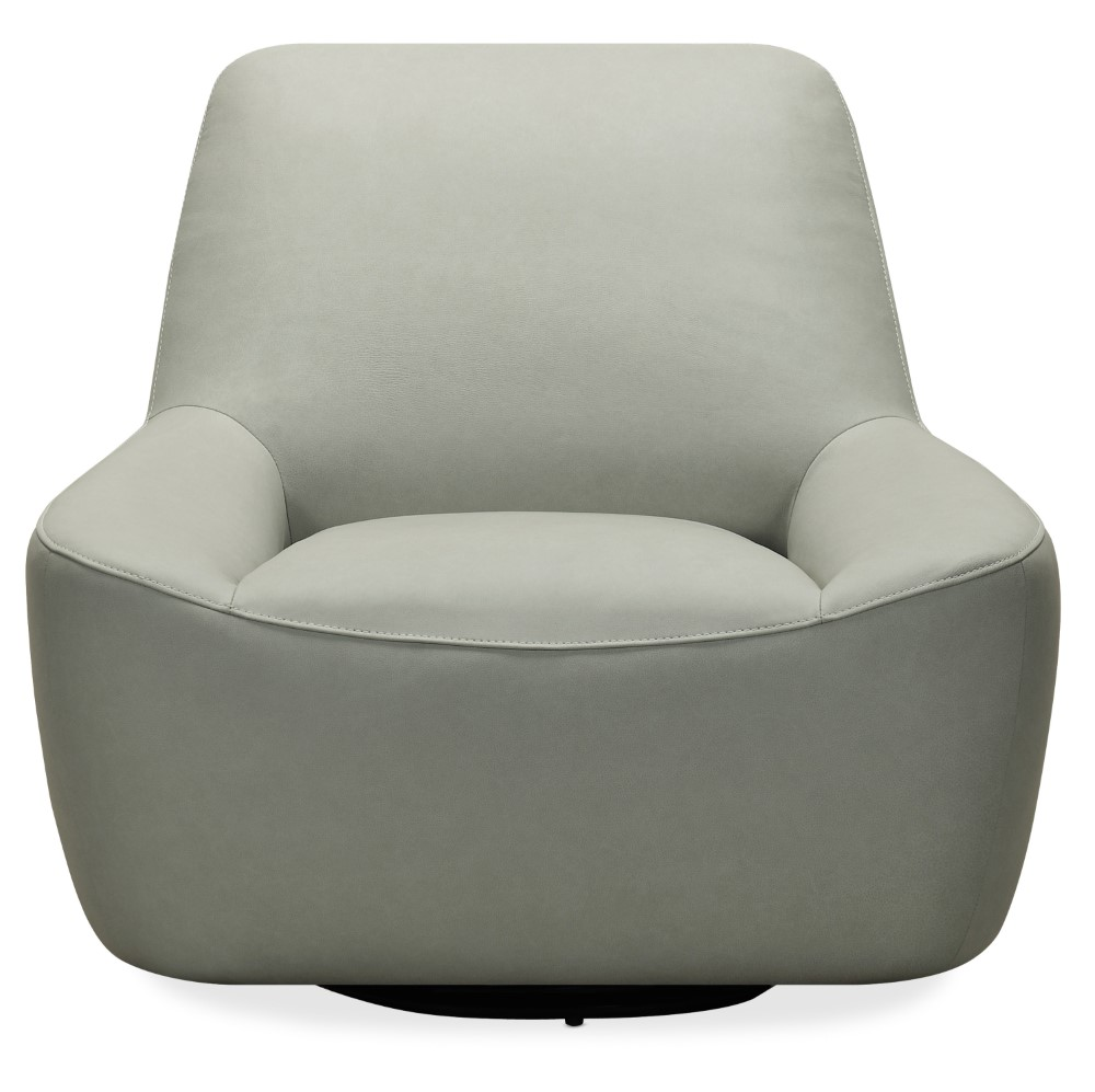 Hooker Furniture Maneuver Leather Swivel Chair Cc461