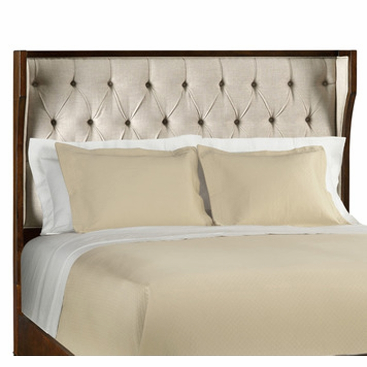 Hooker Furniture - Palisade California King Uph Shelter Headboard Only-Taupe - 5183-90861