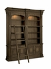 Hooker Furniture - Rhapsody Double Bookcase with Ladder and Rail - 5070-10225