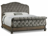 Hooker Furniture - Rhapsody King Tufted Bed - 5070-90566A-GRY