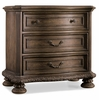 Hooker Furniture - Rhapsody Three Drawer Nightstand - 5070-90016