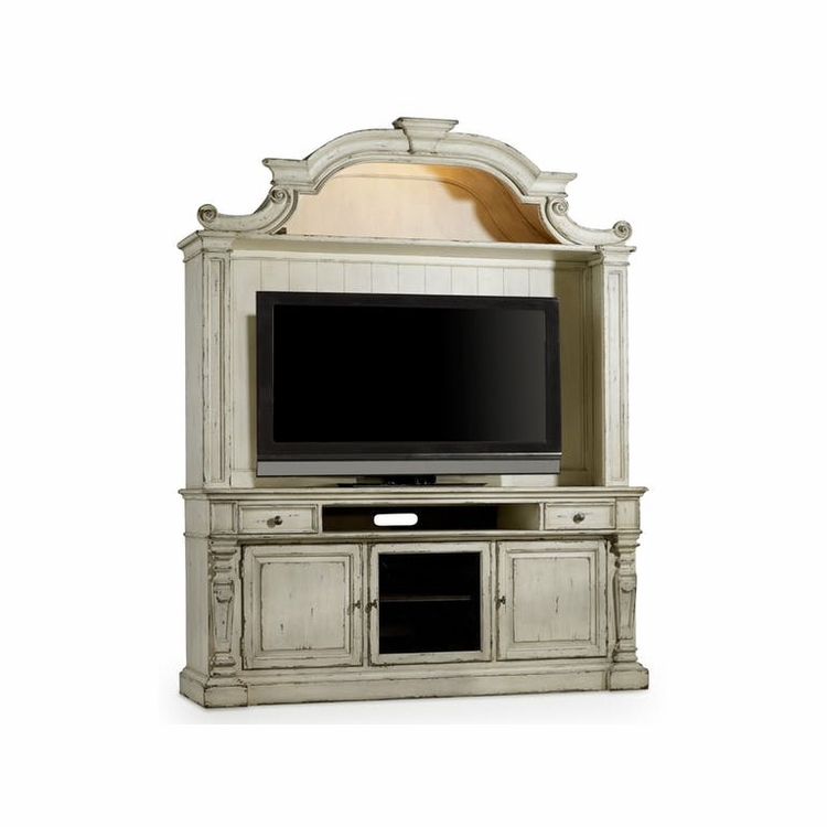 Hooker Furniture - Sanctuary Entertainment Console with Hutch - 5403-55475_55575