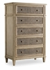 Hooker Furniture - Sanctuary Five Drawer Chest-Pearl Essence - 3023-90010